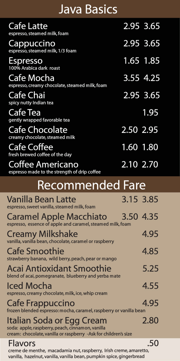 Great Coffee Shop Menu 600 x 1200 · 342 kB · jpeg
